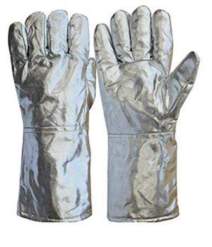 Aluminized Heat Resistant Gloves