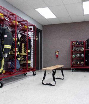 Gear Storage Cabinet, Fire Store Cabinet
