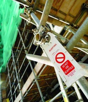 Scaffolding Tags, Inspection Tags